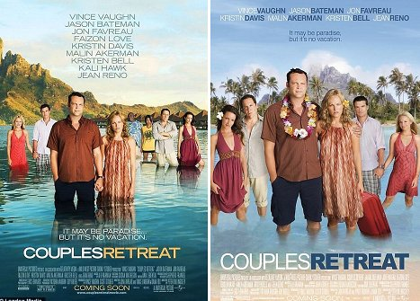 This Couple's Retreat poster's racism is so blatant, there is no need for me ...